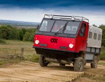 The world's first flat-pack truck