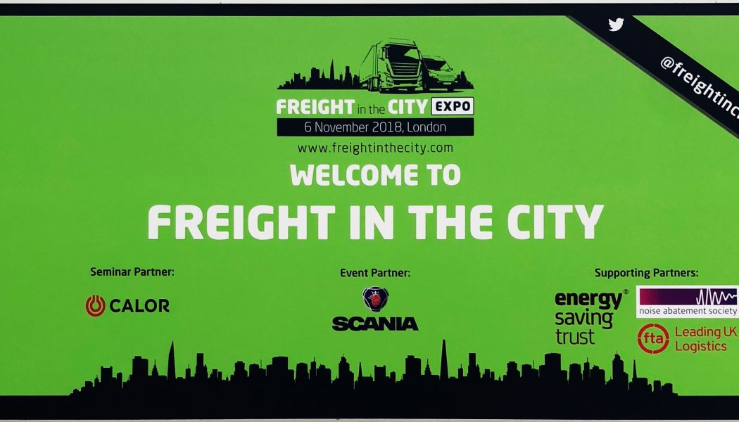 The future of logistics: what happened at Freight in the City 2018