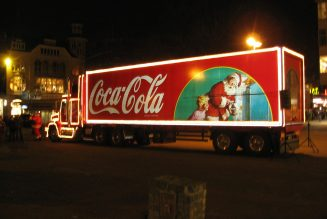 Holidays are coming: Coca-Cola Christmas truck near you