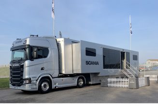 Scania takes to the road to give back to #TransportHeroes