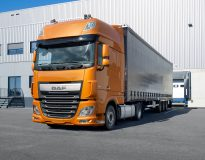 DAF truck production resumes in Europe