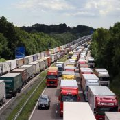 Latest information for HGV drivers driving between the UK and Europe