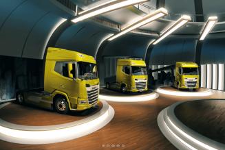 DAF trucks' New Generation comes alive digitally