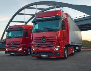 Mercedes Actros L truck is unveiled to offer luxury and space