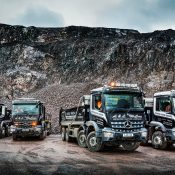 Robust Mercedes-Benz Arocs tippers dig in with Barrachander Quarry