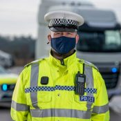 Unmarked police HGV captures road offenders