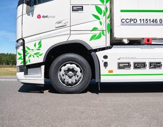 Tyre prototypes for E-Trucks tested by Continental
