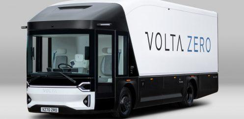 New electric Volta Zero trucks to use sustainable panels