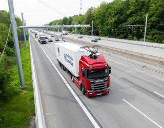 'Electric highways' for zero-emission trucks proposed
