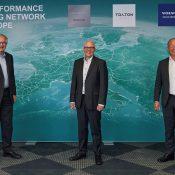 Move to kickstart European electric truck charging network