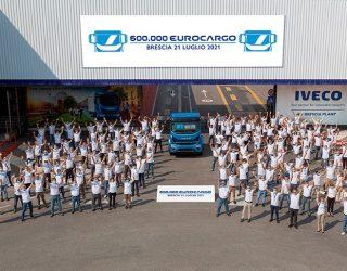 Iveco Eurocargo milestone is celebrated