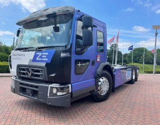 Renault Trucks unveils new urban, all-electric truck