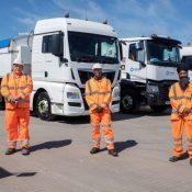 Tarmac hits HGV fleet milestone