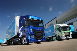 Consumer delivery specialist Hermes UK invests in Iveco S-Way CNG trucks.
