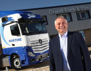 Maritime takes delivery of 100 Mercedes-Benz Actros trucks