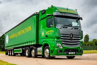 It's one of only 400 Mercedes Actros Edition 2 trucks being made – and Wilkin & Sons have bought one.
