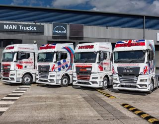 Myers Group takes delivery of four New Generation MAN TGX tractors