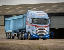 The JG McWilliam fleet has taken delivery of an Iveco S-Way - complete with tartan livery.