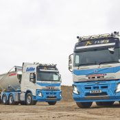 Collins Earthworks has taken delivery of five new FMX 500 Globetrotter 6x4 tractor units - among the first to be delivered in the UK.
