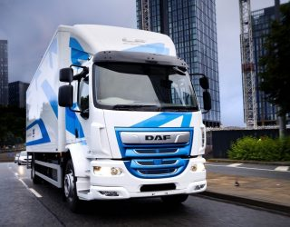 The DAF LF Electric is to be showcased at a major show being staged at Alexandra Palace.