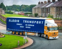 Elddis Transport is turning back the clock with a new Mercedes Actros Edition 2 with its former 1970's livery.