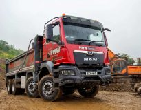 MAN Truck & Bus UK Ltd will showcase two new and exciting TGS and TGL chassis-based vehicles at Tip-Ex 2021.