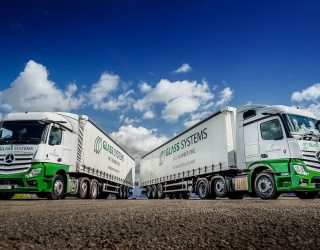 Glass Systems has two new Mercedes trucks that have MirrorCam and a range of benefits.