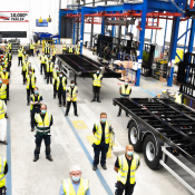 Semi-trailer producer SDC Trailers is celebrating after its 10,000th trailer came off their new production line.