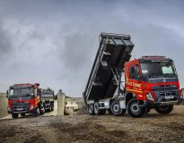 West Coast Haulage is taking delivery of 60 Volvo FMX tippers in one of the biggest deals for the new model.