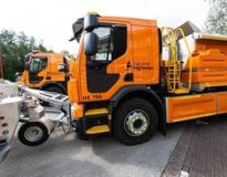 120 brand new gritting vehicles will be delivered to National Highways this year, helping keep traffic moving this winter.