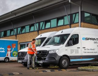 Parcel delivery firm Hermes has underlined its commitment to an emissions-free future by ordering 168 fully electric Mercedes eSprinters.