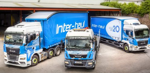 Inter-Haul Pallet Services says that outstanding levels of customer service with their local MAN dealer and MAN Truck & Bus are the reasons for remaining with the brand.
