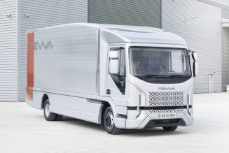 Tevva Truck unveils first British designed 7.5-tonne electric truck intended for mass UK production.